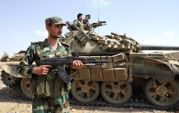 O exército sírio repeliu um ataque poderoso do IG *