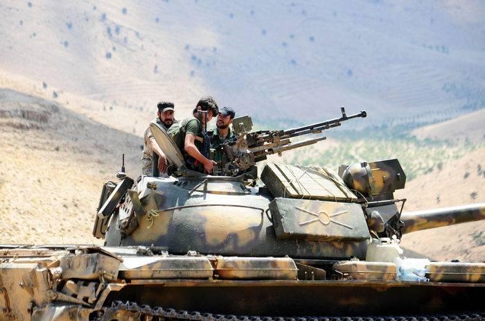 """Минобороны РФ: наступление """"Джебхат ан-Нусры""""* и ИГ* на западе и востоке Сирии завершилось провалом"""