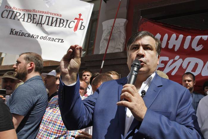 Saakashvili a l'intention de changer le pouvoir à Kiev