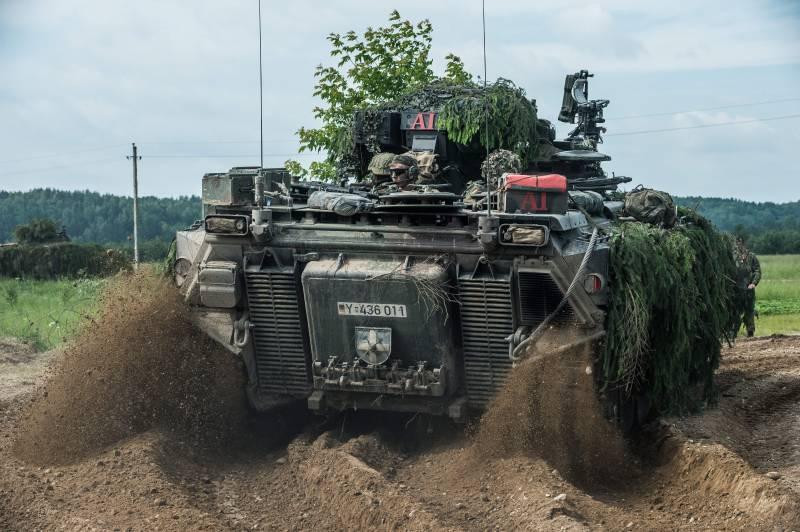 Многонациональные силы НАТО в Прибалтике и Польше