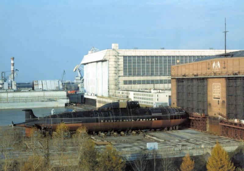Подводные лодки.Обзор состояния многоцелевых атомных подводных лодок, входящих в состав ВМФ России