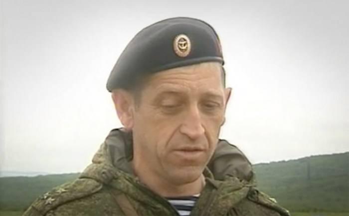 Em Moscou, o comandante da brigada de fuzileiros navais morreu de feridas na Síria