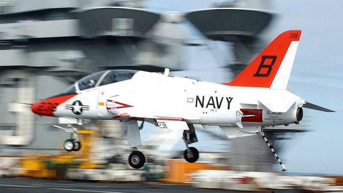 СМИ: учебно-тренировочный самолет ВВС США упал в штате Теннесси