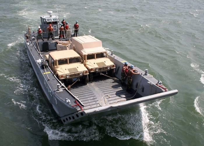Exército dos EUA ordenou o desenvolvimento de novos barcos anfíbios