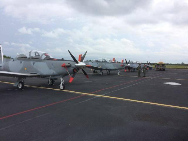 ВВС Аргентины получили первые учебные самолеты Т-6С+ Texan II
