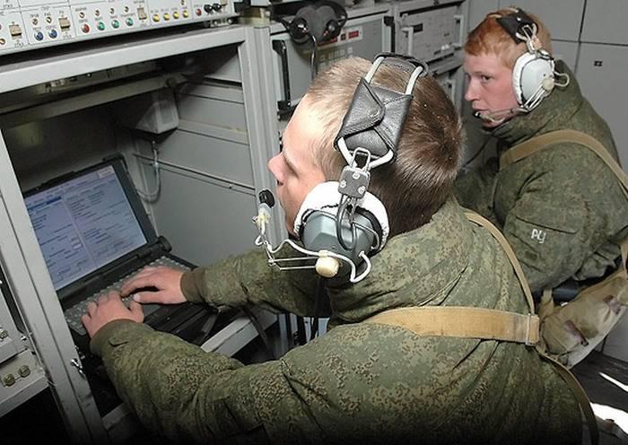 Au cap Schmidt, le complexe de réception d'informations météorologiques Plot-MB a été déployé