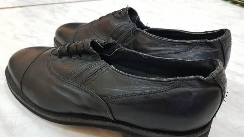Les officiers ukrainiens ont décidé de changer de chaussures