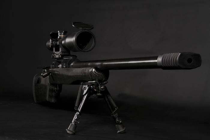 Na Federação Russa criou o rifle mais longo alcance do mundo
