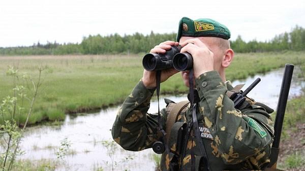 リトアニアの武装国境警備隊がベラルーシの国境を侵害した