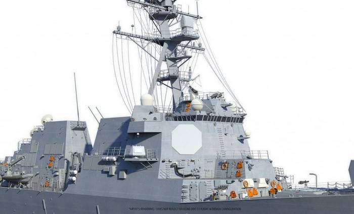 US Navy ordered two more destroyers Arleigh Burke