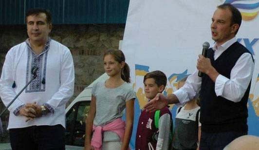 Saakashviliはウクライナで政治亡命を求めた