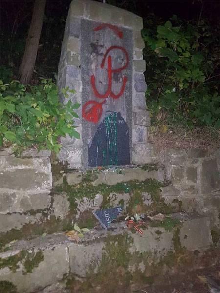 Outro caso de vandalismo contra monumentos a soldados soviéticos na Polônia