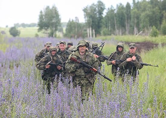 En la región del Volga se iniciaron ejercicios de fuerzas especiales.
