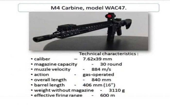 ВСУ вооружаются клоном американских винтовок M4/M16