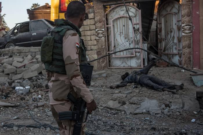 Irak Silahlı Kuvvetleri, Al Khuweiji'nin merkezinin IG'den * çıkarıldığını açıkladı