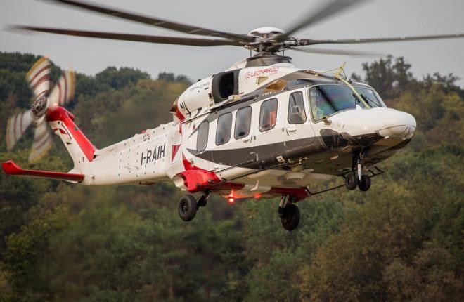 イタリアのAW189ヘリコプターが新世代のターボシャフトエンジンを手に入れる
