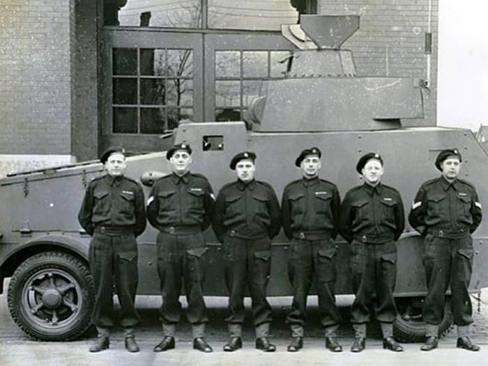 Carro blindado de carro blindado de Hamilton (Canadá)