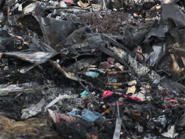 """Duma estatal do DPR também entregou os destroços do """"Boeing"""" e os restos dos corpos"""