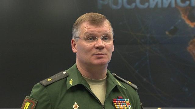 """Konashenkov respondió a Bom en el pasaje sobre """"la liberación de 90% del territorio de la RAE por parte de la Coalición de los Estados Unidos"""""""