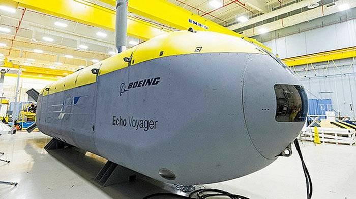 Marina de los Estados Unidos ordenó el desarrollo de submarinos autónomos.