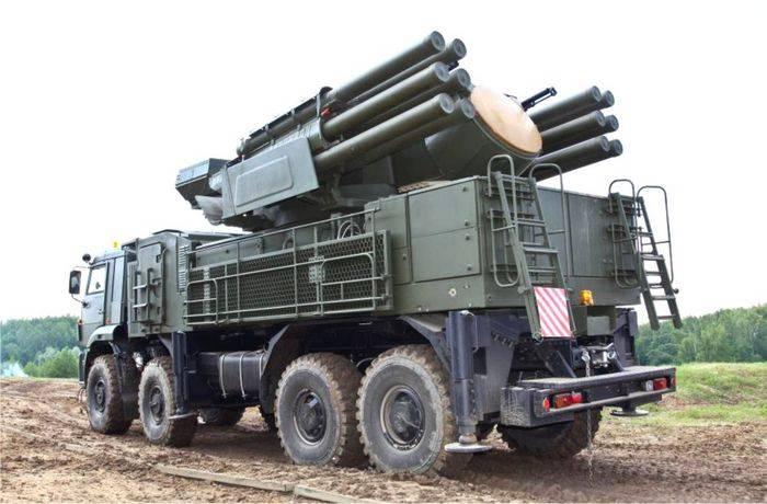 新しいZRPK Pantsir-С1がSaratov地域に到着しました