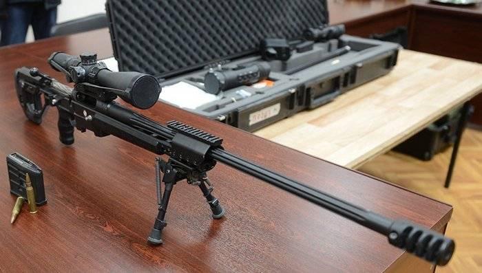 """Sniper rifle """"Precision"""" vai para o exército apenas com cartuchos domésticos"""