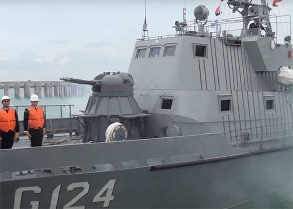 Por primera vez, la flotilla azerbaiyana llegó al puerto iraní en el mar Caspio.