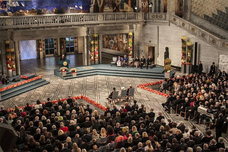 """El Premio Nobel de la Paz fue otorgado """"no por el resultado, sino por el intento"""""""