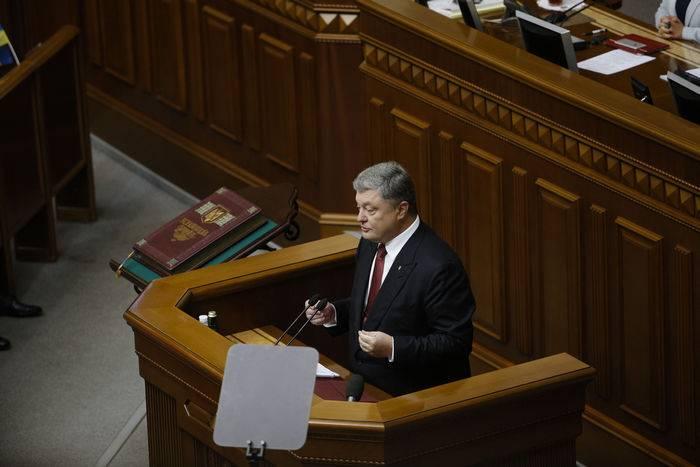 Poroshenko: a lei sobre o Donbass vai acelerar o fornecimento de armas para Kiev