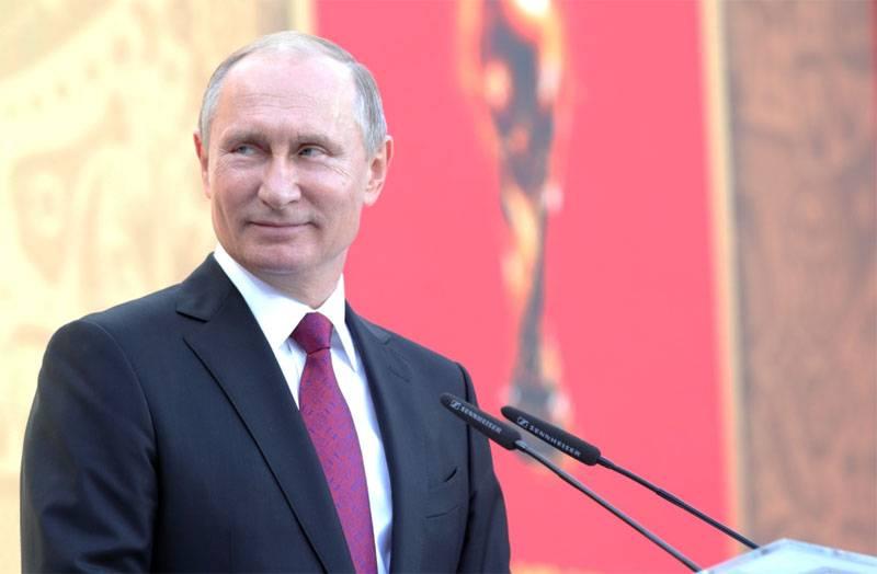 Владимиру Путину - 65