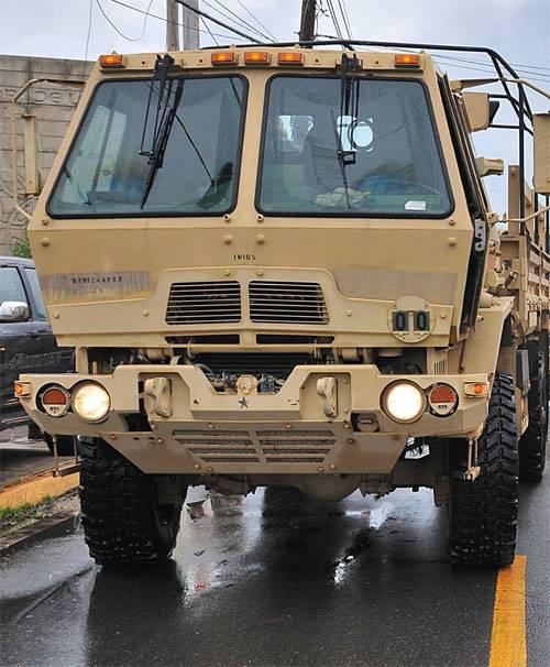 В США грузовик въехал в группу военнослужащих на учебной базе Форт-Джексон