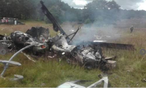 Siete soldados muertos en accidente de helicóptero en México