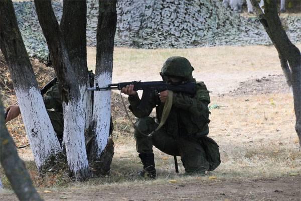 CSTO CSTOR情报单位的演习正在亚美尼亚完成