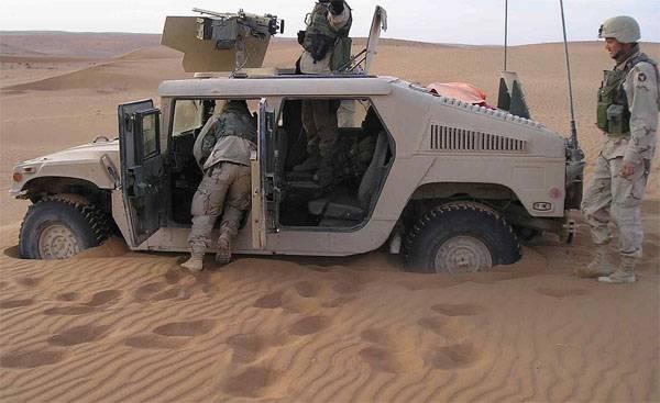 """El Pentágono ha dejado de organizar los """"Humvi"""" existentes."""
