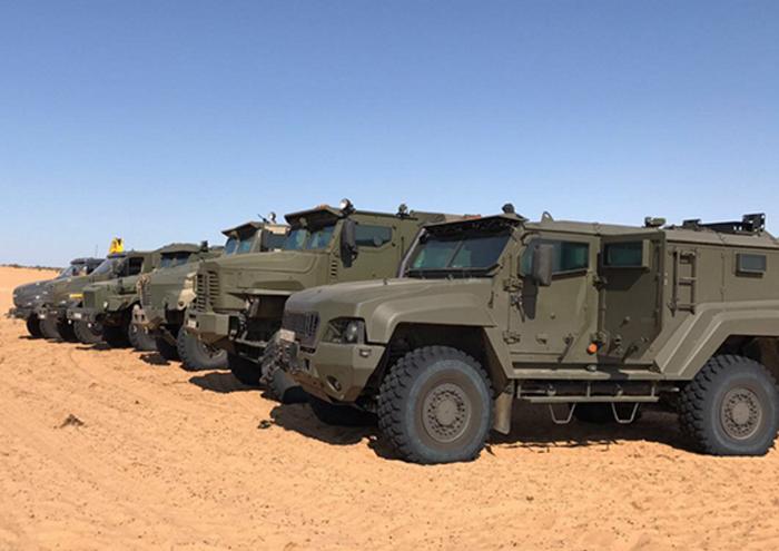 国防省:Elbrusでの軍用車両のテストは正常に終了しました