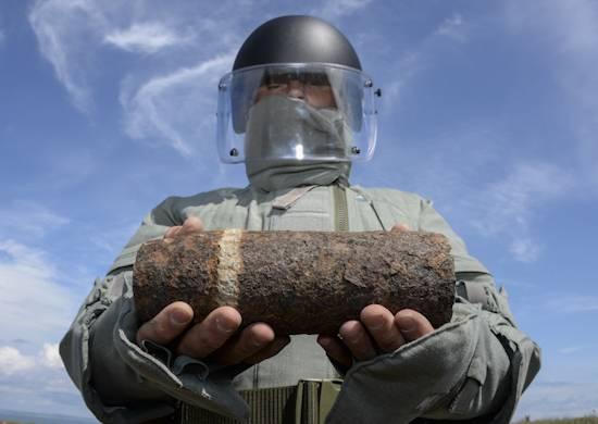 Desde principios de año, más de 5 mil artículos explosivos han sido destruidos en la región de Volgogrado.