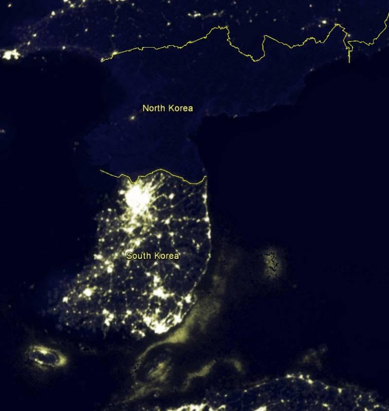 Сеул задумал обесточить КНДР спомощью «графитовой бомбы»