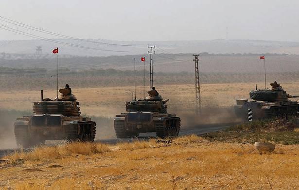 トルコは大規模な勢力によるシリアの侵略を準備しています
