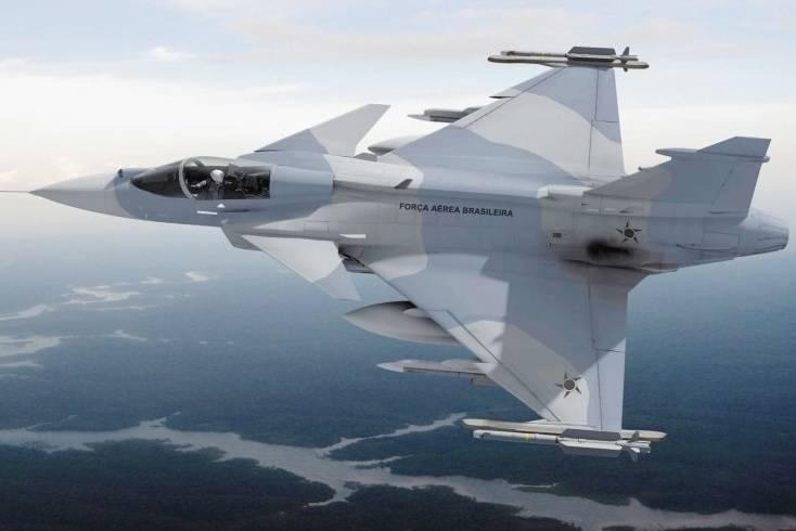 Se acordó un plan para crear una empresa conjunta Gripen NG en Brasil.
