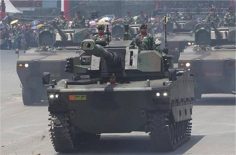 В Индонезии показан  прототип танка Kaplan MT