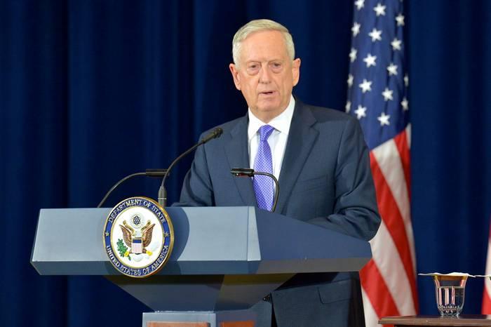 Мэттис: армия США должна быть готова к военному решению проблемы КНДР