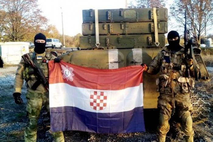 Ustashi on Donbass: copione croato