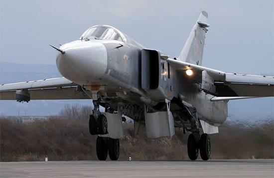シリアでは、ロシア連邦のSu-24航空機の乗組員