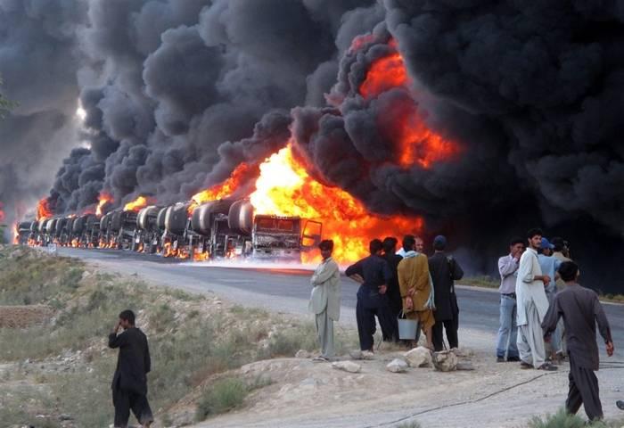 ロシアのVKSがシリアのIG *の経済を破壊した