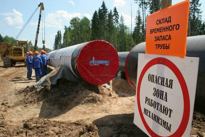 Lituânia extorque dinheiro da Gazprom