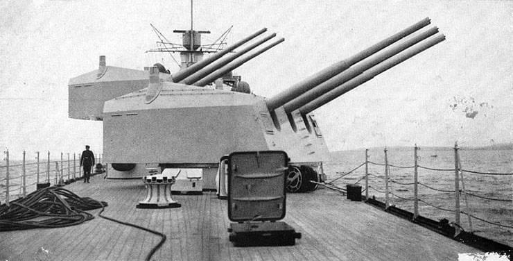 German destroyer. Fear of emptiness