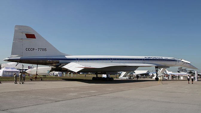 "The battle for supersonic: how our Tu-144 left behind the vaunted ""Concord"""