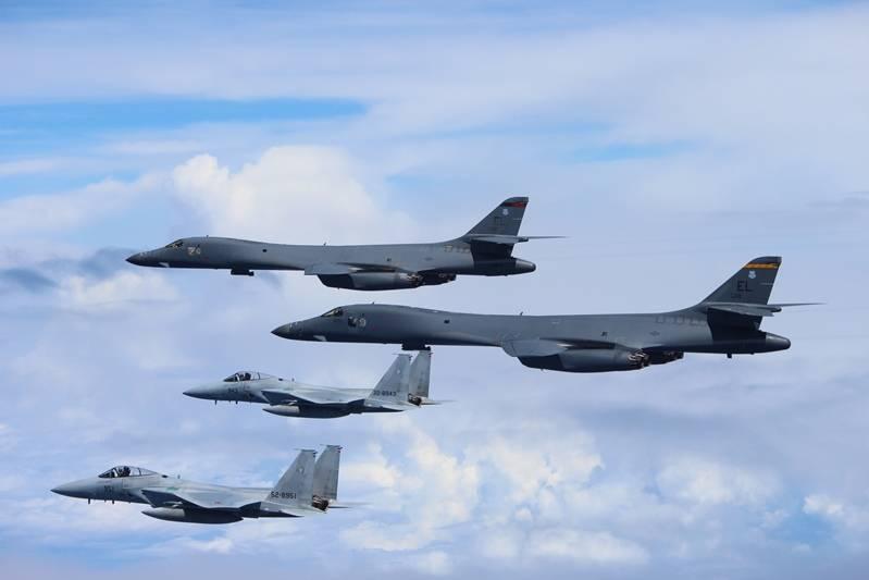 Força Aérea dos EUA e Coréia do Sul realizaram um exercício conjunto