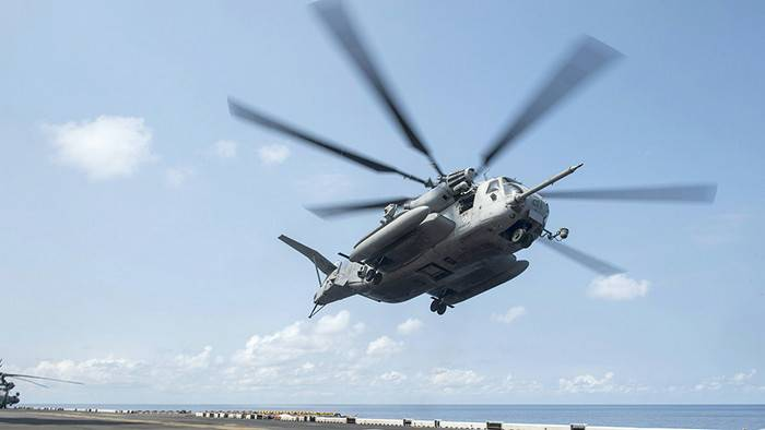 US helicopter crashed in Okinawa area Japan