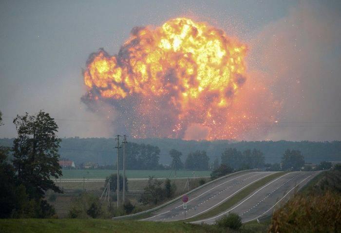 Kiev alocou quase US $ 4 milhões para proteger depósitos de munição